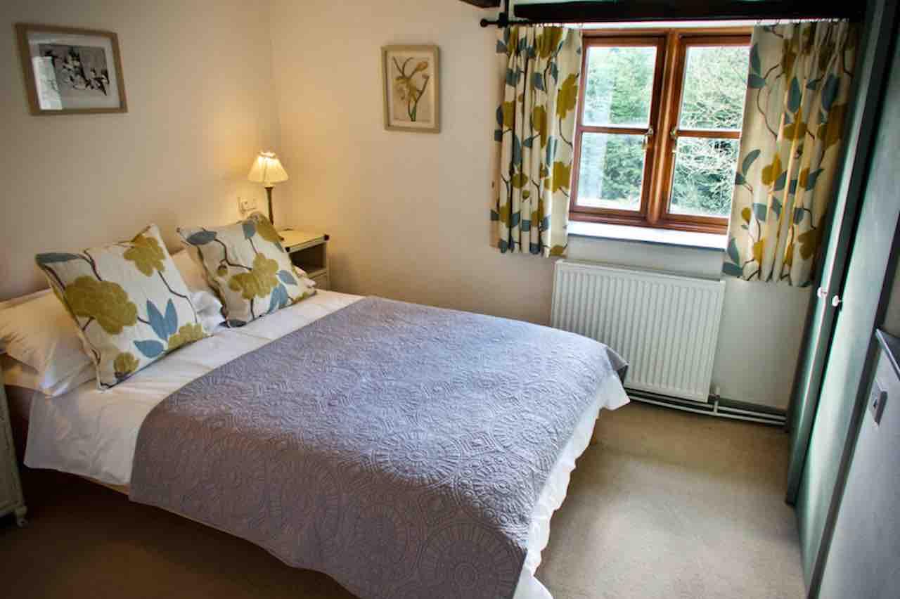 Butterdon's pretty double bedroom