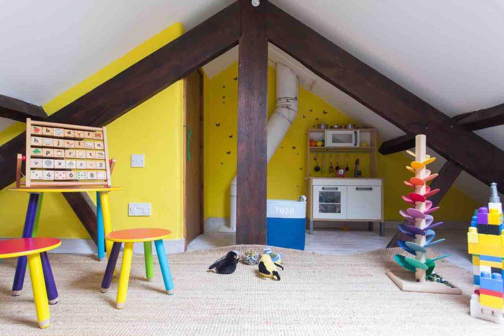 Butterdon's kids play area on the mezzanine level