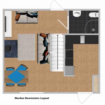 Mardon's downstairs floorpan